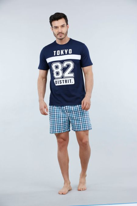 Pijama para Hombre Color Azul Ref: 003306 - CCU - Talla: S