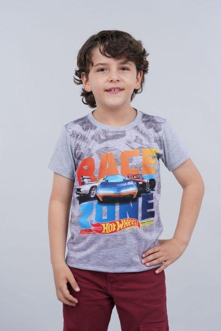 Camiseta para Niño Color Gris Ref: 033501 - Confetex - Talla: 4