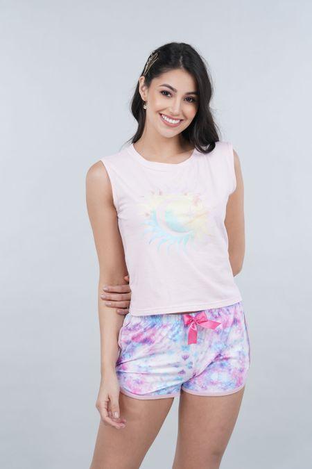 Pijama para Mujer Color Rosado Ref: 011315 - CCU - Talla: S