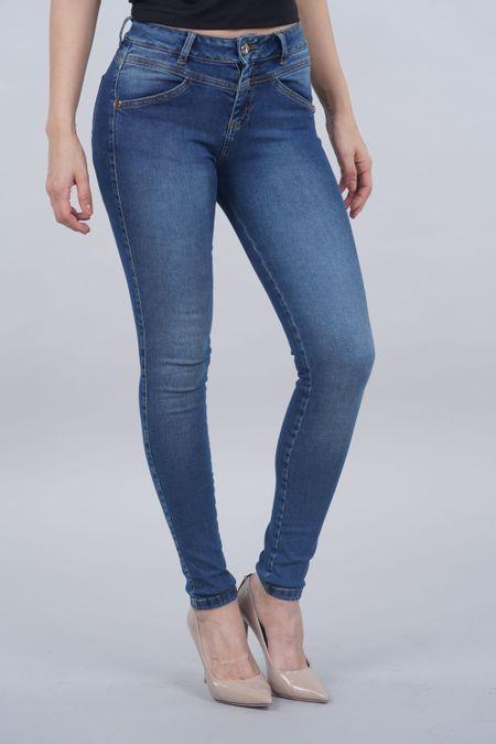 Jean para Mujer Color Azul Ref: 120771 - Possesion - Talla: 6