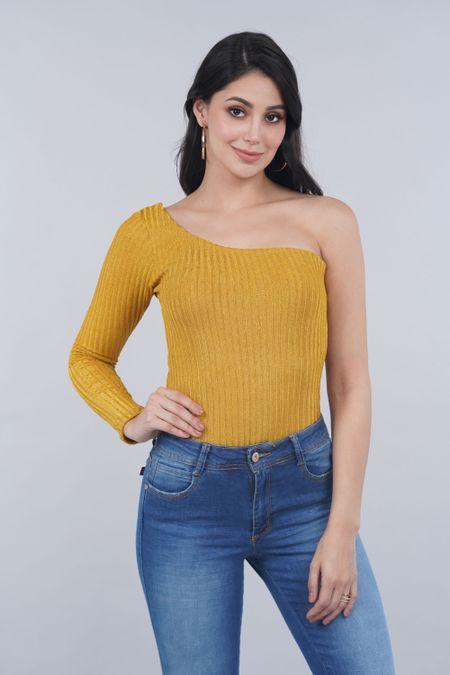 Body para Mujer Color Amarillo Ref: 016937 - Vainilla - Talla: M