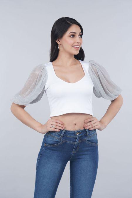 Blusa para Mujer Color Blanco Ref: 016942 - Vainilla - Talla: L