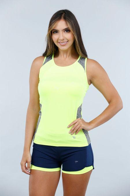 Blusa para Mujer Color Verde Ref: W203075 - Weekly - Talla: S
