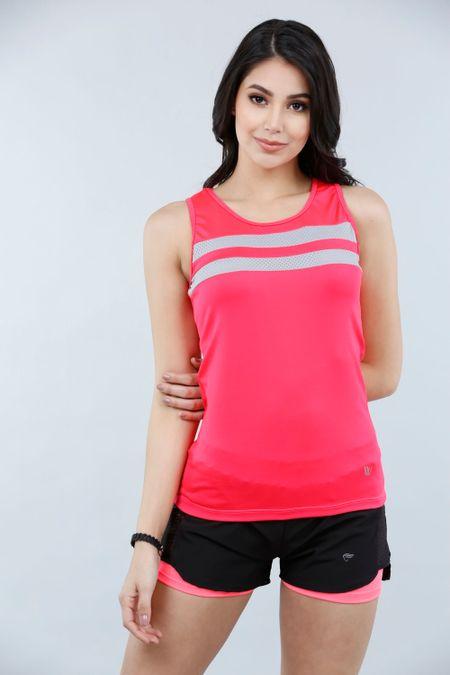 Blusa para Mujer Color Coral Ref: 203085 - Weekly - Talla: S