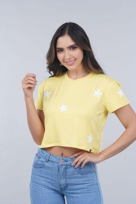 Blusa para Mujer Color Amarillo Ref: 031384 - Lui Love - Talla: L