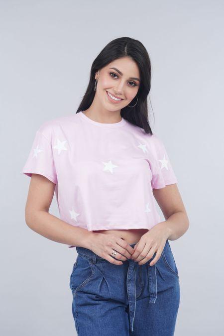 Blusa para Mujer Color Rosado Ref: 031384 - Lui Love - Talla: S