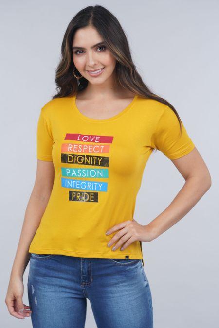 Blusa para Mujer Color Amarillo Ref: 031389 - Lui Love - Talla: S