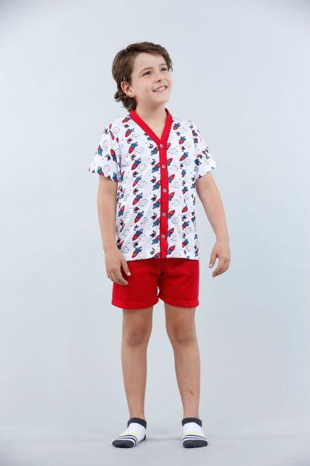 Pijama para Niño Color Rojo Ref: 001840 - Kalor - Talla: 2