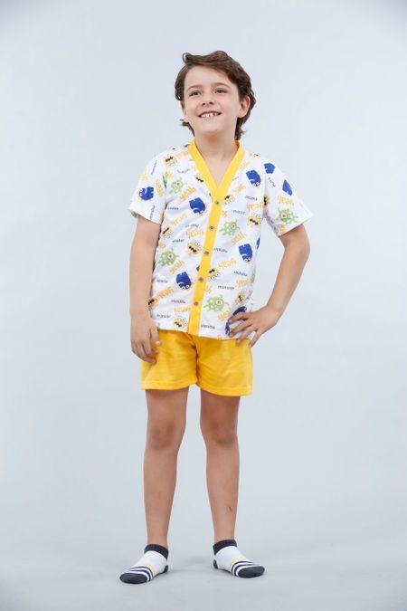 Pijama para Niño Color Amarillo Ref: 001840 - Kalor - Talla: 2