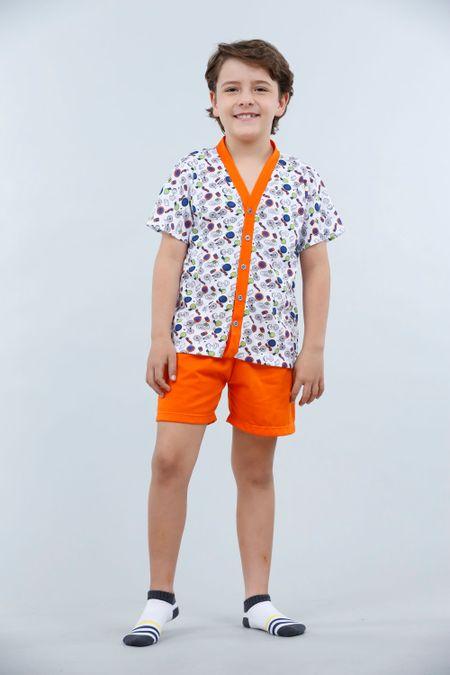 Pijama para Niño Color Naranja Ref: 001840 - Kalor - Talla: 2
