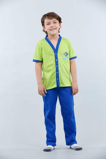 Pijama para Niño Color Verde Ref: 001685 - Kalor - Talla: 2