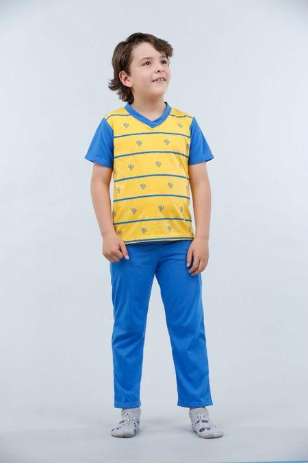 Pijama para Niño Color Amarillo Ref: 001775 - Kalor - Talla: 2