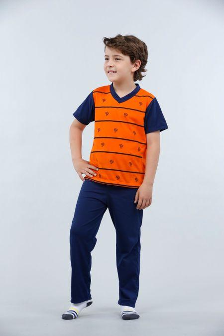 Pijama para Niño Color Naranja Ref: 001775 - Kalor - Talla: 2