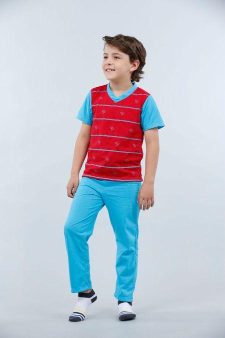 Pijama para Niño Color Rojo Ref: 001775 - Kalor - Talla: 2