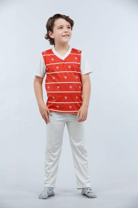 Pijama para Niño Color Terracota Ref: 001775 - Kalor - Talla: 2