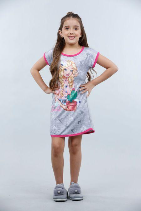 Pijama para Niña Color Gris Ref: 037005 - Confetex - Talla: 4