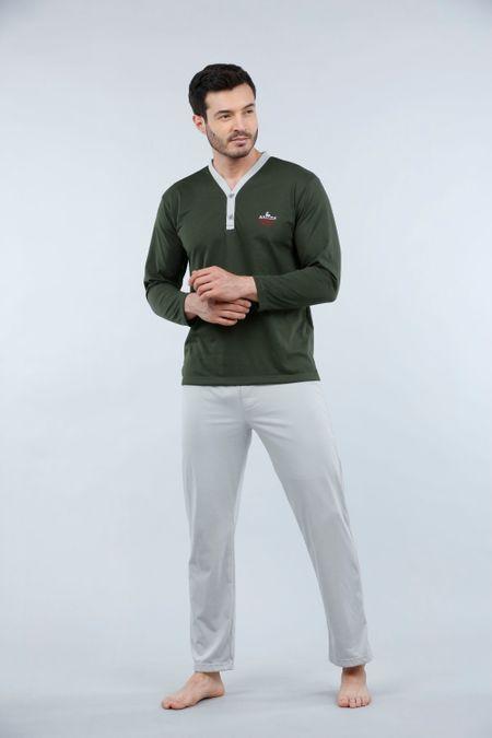 Pijama para Hombre Color Verde Ref: 003005 - Kalor - Talla: S