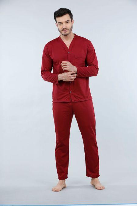 Pijama para Hombre Color Vinotinto Ref: 001886 - Kalor - Talla: S