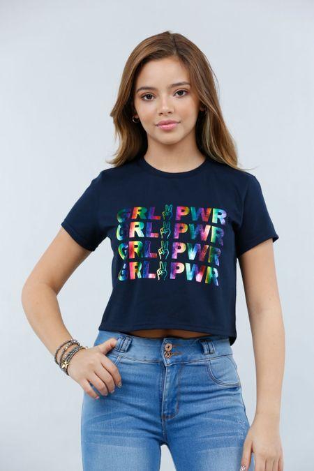 Blusa para Teen Color Azul Ref: 021195 - CCU - Talla: 10