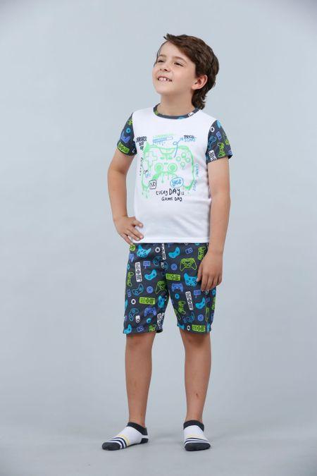 Pijama para Niño Color Blanco Ref: 030272 - CCU - Talla: 6