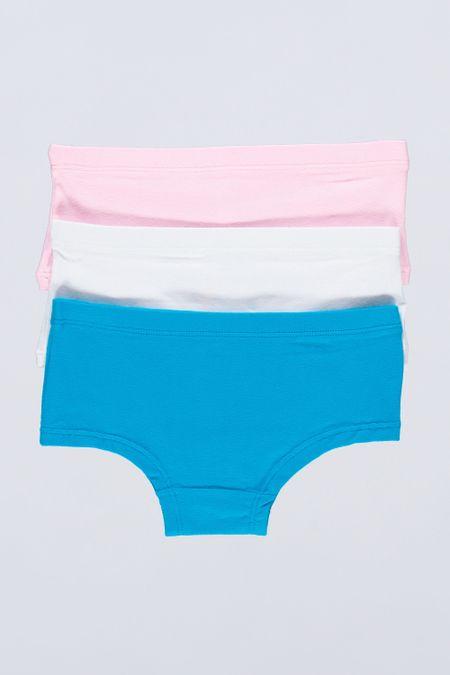Pack x 3 Interior para Niña Color Surtido Ref: 021430 - Sex - Talla: 4