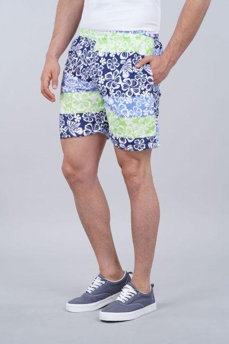 Pantaloneta para Hombre Color Azul Ref: 0R1004 - Celestial - Talla: M