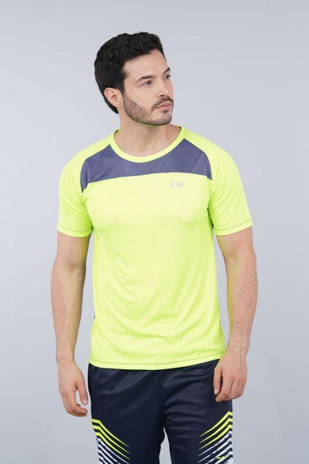 Camiseta para Hombre Color Verde Ref: 007018 - Celestial - Talla: S
