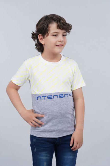 Camiseta para Niño Color Gris Ref: 018228 - Parceritos - Talla: 2