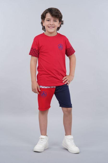 Conjunto para Niño Color Rojo Ref: 068225 - Parceritos - Talla: 2