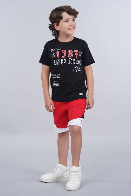 Conjunto para Niño Color Negro Ref: 068224 - Parceritos - Talla: 2