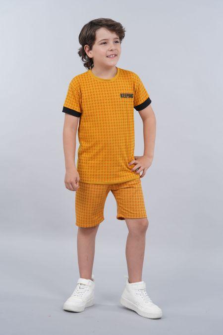 Conjunto para Niño Color Amarillo Ref: 068222 - Parceritos - Talla: 2