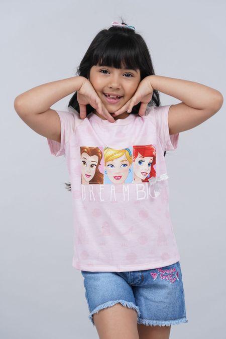 Blusa para Niña Color Rosado Ref: 101720 - CCU - Talla: 6