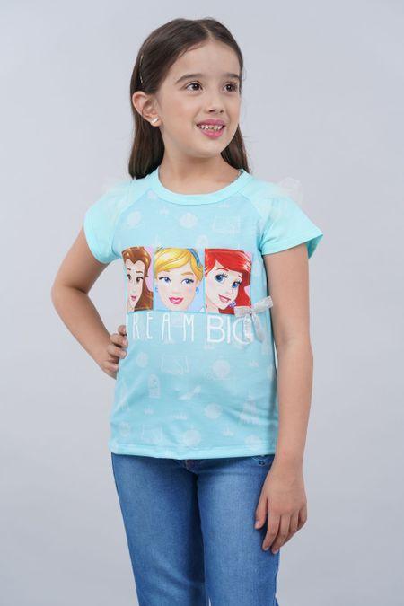 Blusa para Niña Color Azul Ref: 101720 - CCU - Talla: 6