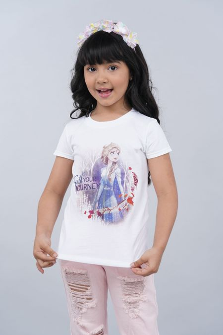Camiseta para Niña Color Blanco Ref: 103998 - CCU - Talla: 6