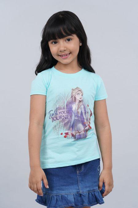 Camiseta para Niña Color Azul Ref: 103998 - CCU - Talla: 6