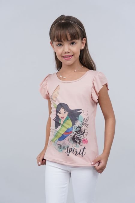 Blusa para Niña Color Rosado Ref: 102026 - Colditex - Talla: 4