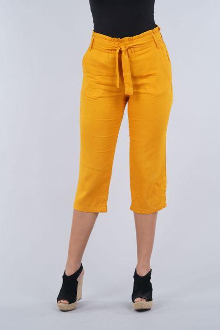 Capry para Mujer Color Amarillo Ref: 103493 - E.U - Talla: 8