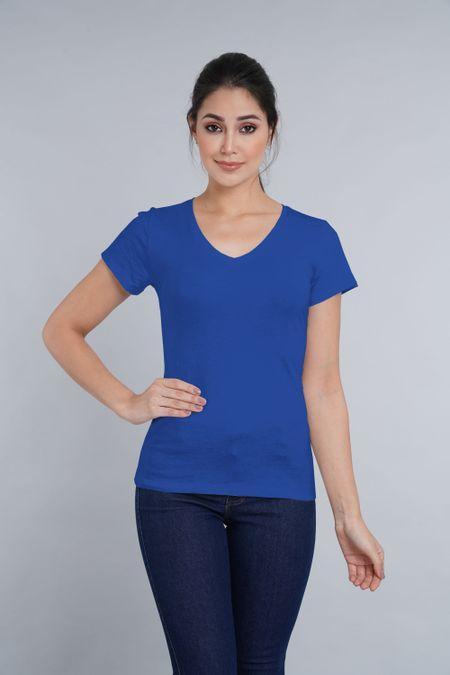Camiseta para Mujer Color Azul Ref: 005138 - CCU - Talla: S