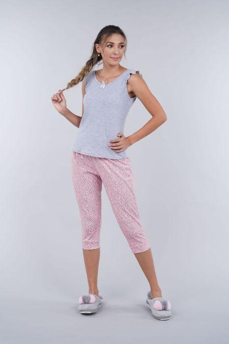 Pijama para Mujer Color Gris Ref: 000015 - Myaw - Talla: S