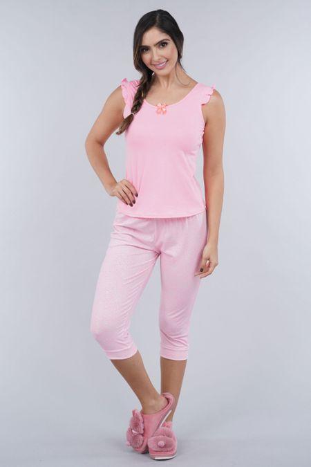 Pijama para Mujer Color Rosado Ref: 000015 - Myaw - Talla: S