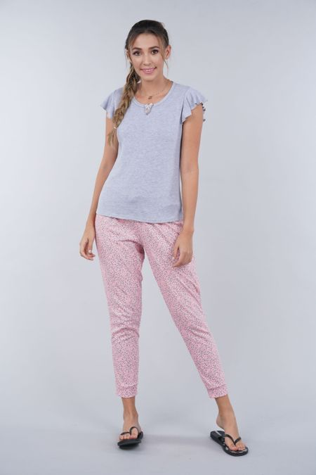 Pijama para Mujer Color Gris Ref: 000057 - Myaw - Talla: S