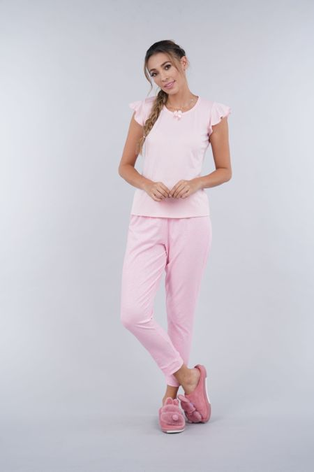 Pijama para Mujer Color Rosado Ref: 000057 - Myaw - Talla: S