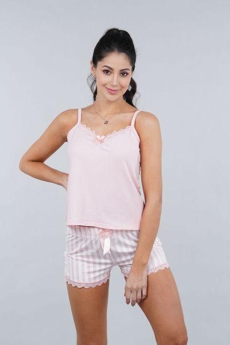Pijama para Mujer Color Rosado Ref: 000131 - Myaw - Talla: XL