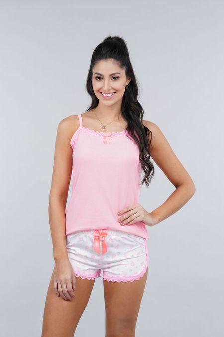 Pijama para Mujer Color Rosado Ref: 000133 - Myaw - Talla: S