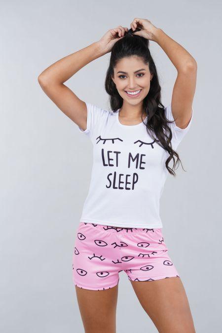 Pijama para Mujer Color Rosado Ref: 002321 - Ambil - Talla: S